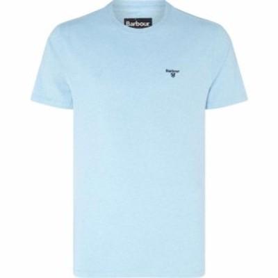 バブアー Barbour メンズ Tシャツ トップス Seton Tee Ocean Blue BL