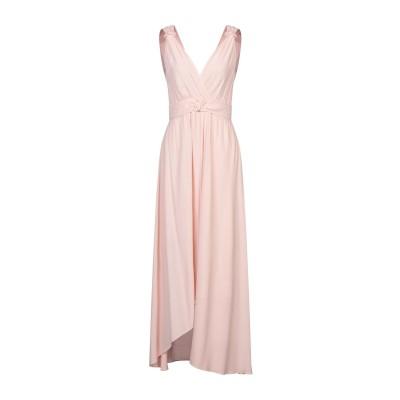 ピンコ PINKO ロングワンピース&ドレス ライトピンク 40 レーヨン 100% ロングワンピース&ドレス
