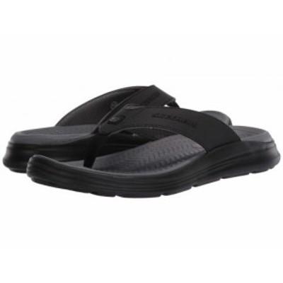 SKECHERS スケッチャーズ メンズ 男性用 シューズ 靴 サンダル Sargo Sunview Black【送料無料】