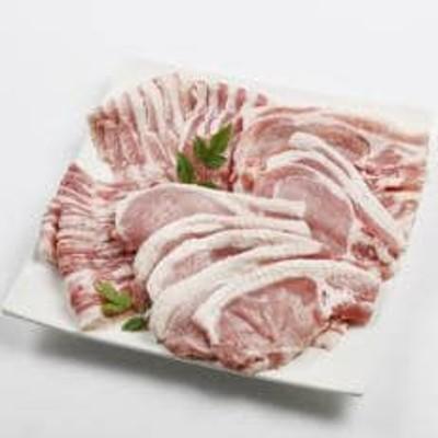 千葉県産豚肉房総オリヴィアポークスライス・切り身セット(ロース・バラ)合計1kg