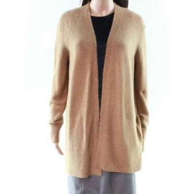 Madewell メイドウェル ファッション トップス Madewell Womens Brown Size Medium M Open-Front Cardigan Sweater