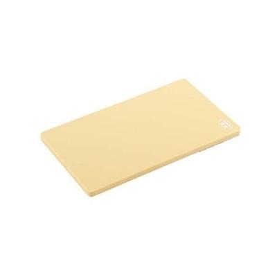 ヨシカワ 日本製 まな板 調理用 ベージュ 35×20.5cm 抗菌エラストマー 刃当たりソフト 4286001 SJ1494