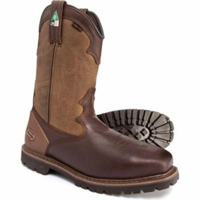 オリバーピープルズ Oliver メンズ ブーツ ウェスタンブーツ ワークブーツ Western Style Met-Guard Work Boots - Steel Safety Toe. Lea