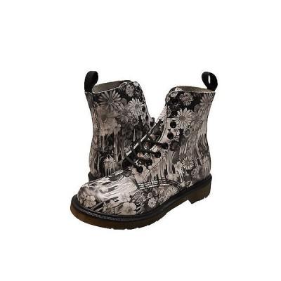 ブーツ ドクターマーチン レディース シューズ Dr. Martens Pascal 8 Eye ブーツ 21088001 ブラック Paint Slick *New*