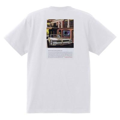 アドバタイジング ポンティアック 403 白 Tシャツ 黒地へ変更可能 1964 グランプリ テンペスト ボンネビル アメ車