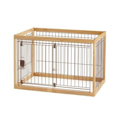ペット サークル 木製 リッチェル ペットサークル ナチュラル 90-60