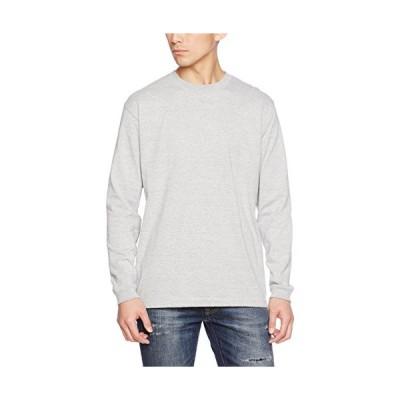 (ユナイテッドアスレ)UnitedAthle 5.6オンス 長袖Tシャツ(1.6インチリブ) 501101 [メンズ] 006 ミックスグレー XL