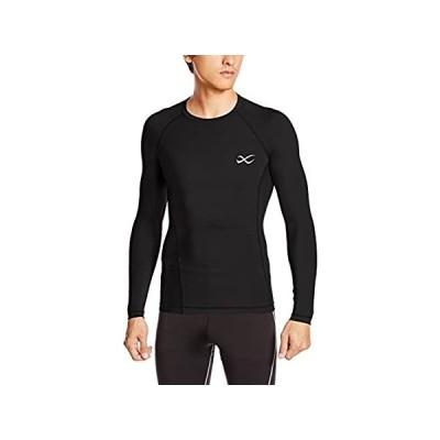 [シーダブリューエックス] トップス 長袖 丸首 / セカンドボディ 吸汗速乾 UVカット メンズ CHO020 ブラック 日本 L (日本サイズL相