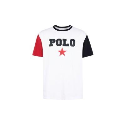 POLO RALPH LAUREN T シャツ ホワイト S コットン 100% T シャツ