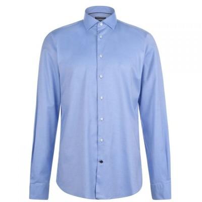 トミー ヒルフィガー Tommy Hilfiger Tailoring メンズ シャツ トップス Slim Fit Stretch Oxford Shirt Sky