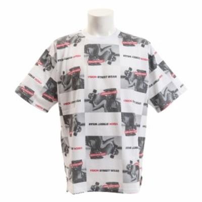 ヴィジョン(VISION)Tシャツ 半袖 総柄BIGTシャツ 9523136-06OFF (Men's)