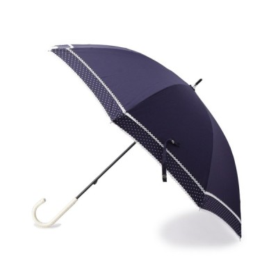 SHOO・LA・RUE / 晴雨兼用ピンドットダブルピコレ-ス長傘 WOMEN ファッション雑貨 > 長傘