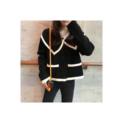 【送料無料】秋 韓国風 レトロ 人形の襟 複数色 デザイン 感 長袖セーター | 346770_A63645-6046764