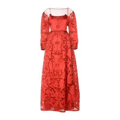 アルベルタ フェレッティ ALBERTA FERRETTI ロングワンピース&ドレス レッド 40 ポリエステル 80% / シルク 20% ロング