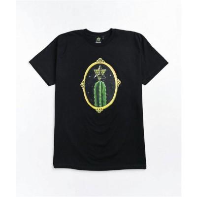 ピラミッド カントリー PYRAMID COUNTRY メンズ Tシャツ トップス Pyramid Country Kampa's Cactus Black T-Shirt Black
