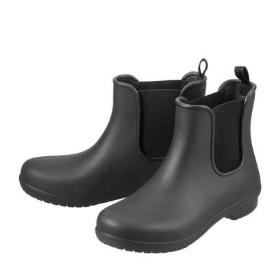 クロックス crocs 204630 レディース | レイン・スノー | 軽量 軽い | 防水 雨の日 | クッション性 | ブラック×ブラック