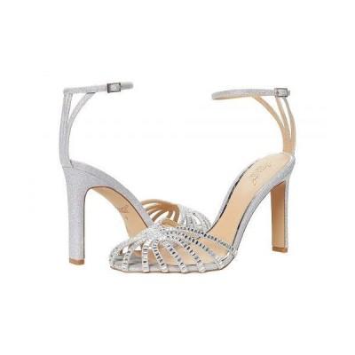Jewel Badgley Mischka レディース 女性用 シューズ 靴 ヒール Polly - Silver