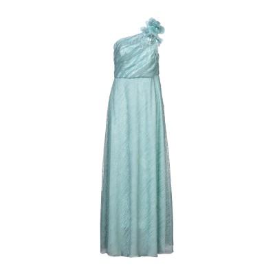 URIC ロングワンピース&ドレス ライトグリーン 48 Lurex® ロングワンピース&ドレス