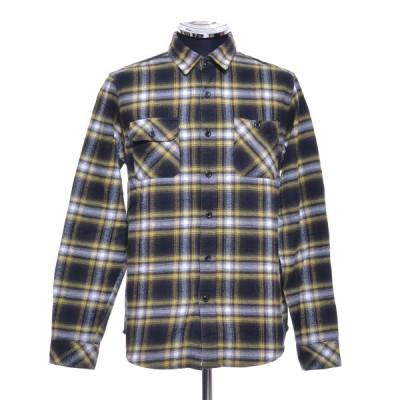 graniph グラニフ フランネルシャツ サイズM 綿 メンズ イエロー