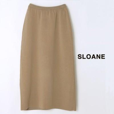 **SLOANE〔スローン〕SL4S-122サイドアイレットコットンスカート