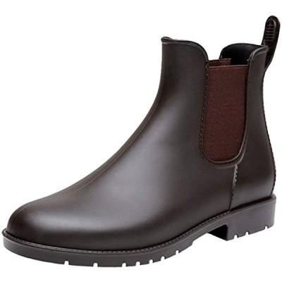 Bravell レインシューズ 晴雨兼用 レディース レインブーツ ショート メンズ 長靴 大きいサイズ サイドゴア 梅雨対策 ファッション