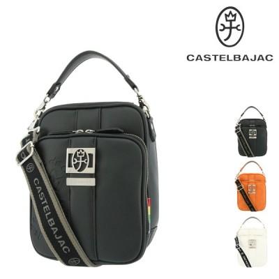 カステルバジャック ショルダーバッグ 縦型 メンズ ソルベ 052103 CASTELBAJAC | 斜めがけ 撥水