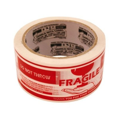 PRINTED PACKING TAPE(カートンテープ)【FRAGILE】 PPT-3