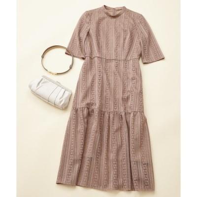 ドレス 【WEB限定】パーティスタイル3点セット 《マーメイドラインドレス・モカ》 / 結婚式・2次会・パーティードレス