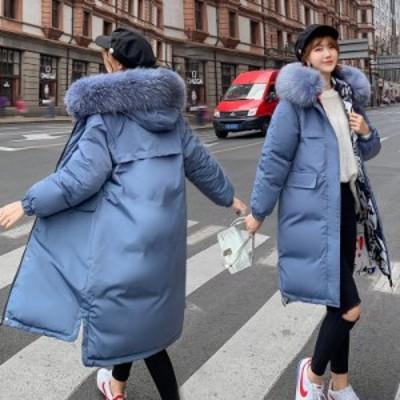 2way 両面着 中綿コート 中綿ジャケット レディース ロングコート 冬 防寒着 フード付き ダウンコート ダウンジャケット アウター フォー
