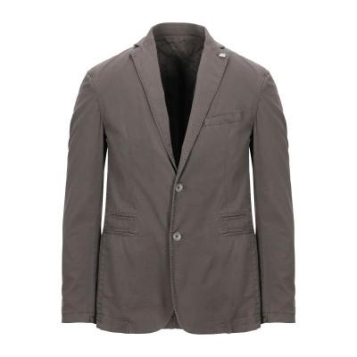 BARBATI テーラードジャケット 鉛色 46 コットン 98% / ポリウレタン 2% テーラードジャケット