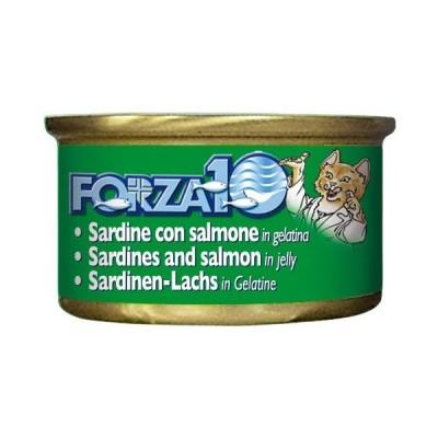 【PET】【フォルツァ10(FORZA10)】【ポイント2倍】 猫缶 メンテナンス イワシ&サーモン 85g 8020245100039【トリッコ】