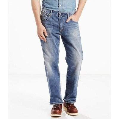 リーバイス メンズ デニムパンツ ボトムス Levi's 569 Loose Straight Stretch Jeans Tanager Wash