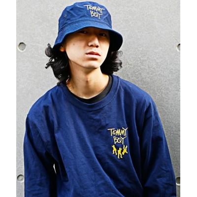 帽子 ハット 【 FOSTEX GARMENTS / フォステックスガーメンツ 】TOMMY BOY EMBROIDERY BUCKET HAT