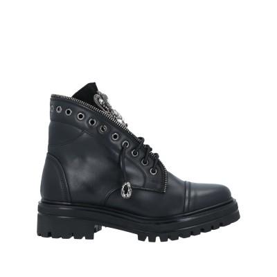 STELE ショートブーツ ブラック 37 牛革(カーフ) ショートブーツ