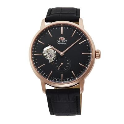 オリエント ORIENT 腕時計 セミスケルトンオートレザーMウォッチ RN-AR0103B ギフトラッピング無料