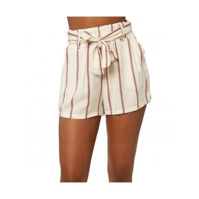 O'Neill オニール レディース 女性用 ファッション ショートパンツ 短パン Cameron Stripe Shorts - Winter White