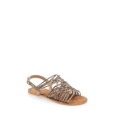 セイシェルズ サンダル シューズ レディース Like New Gladiator Sandal Natural Exotic Leather