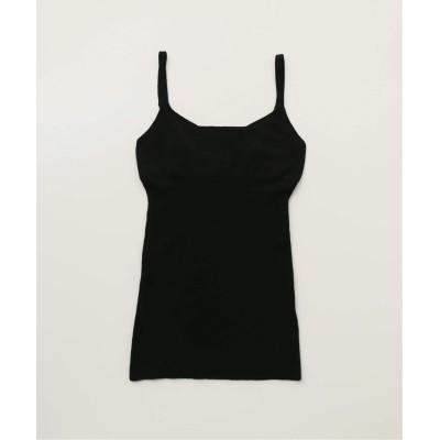 レディース エミリーウィーク 【nakes/ネイクス】 knit bra tank ブラック M