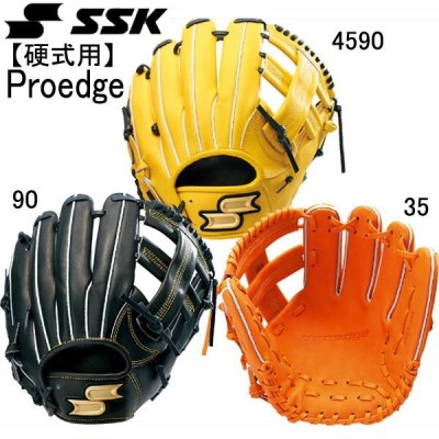 硬式プロエッジ内野手用※グラブ袋付き SSK エスエスケイ 野球 硬式グローブ18SS(PEK84418)
