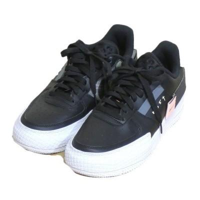 NIKE 「AIRFORCE1 Type black」エアフォース1 スニーカー ブラック サイズ:27.5cm (栄店) 200525