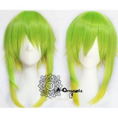 Vocaloid  グミ gumi  山茶花  風 ★ コスプレウィッグ +ウイッグネット *W207