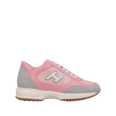 ホーガン HOGAN スニーカー&テニスシューズ(ローカット) ライトピンク 39 革 / 紡績繊維 スニーカー&テニスシューズ(ローカット)