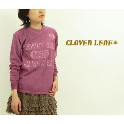 CLOVER LEARF クローバーリーフ リブメント長袖Tシャツ