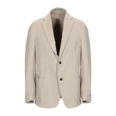 NINO DANIELI テーラードジャケット サンド 50 コットン 98% / ポリウレタン 2% テーラードジャケット