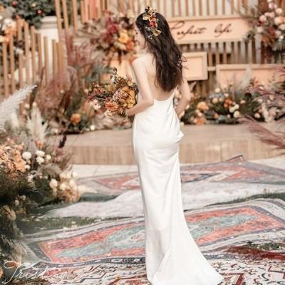 パーティードレス 成人式 結婚式 ウエディング ワンピース ウェディングドレス 冬 姫系 ホルターネック 花嫁ロングドレス お呼ばれ 二次会 演奏会