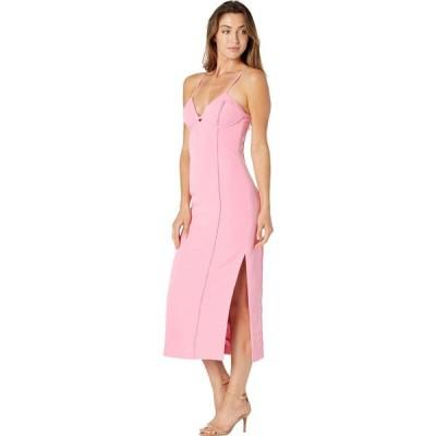 バルドー Bardot レディース ワンピース ミドル丈 ワンピース・ドレス Tailored Midi Dress Pink Sorbet