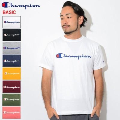 チャンピオン Tシャツ 半袖 Champion メンズ C3-P302 ( C3-P302 S/S Tee C3-H374 BASIC ベーシック 日本企画 ワンポイント カットソー )