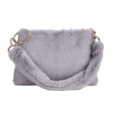 卸売可新作ファーバッグトートバッグハンドバッグレディースバッグショルダーバッグ鞄肩掛け大きめ大容量オシャレカバンシンプル