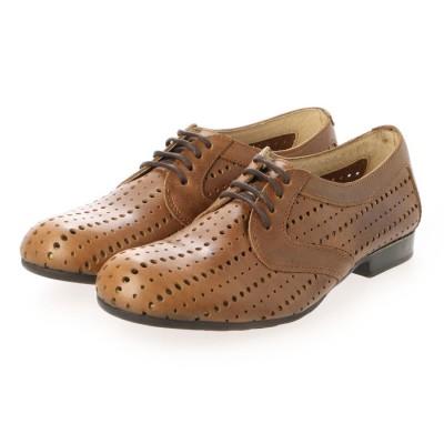 ヨーロッパコンフォートシューズ EU Comfort Shoes レースアップシューズ (ベージュ)