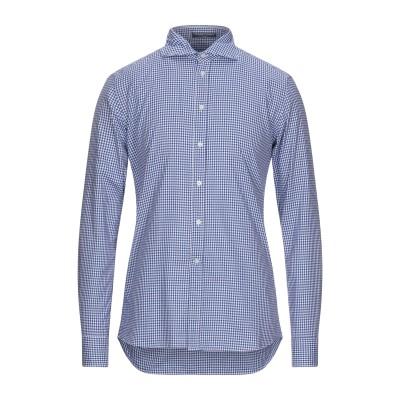 B.D.BAGGIES シャツ ブルー XXL コットン 100% シャツ